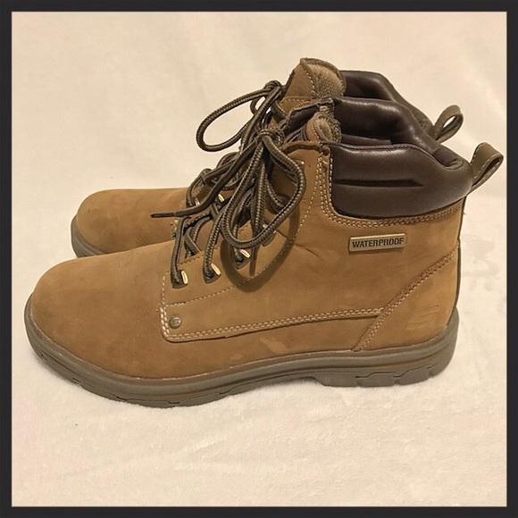 Skechers Shoes   Mens Memory Foam Work